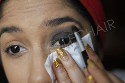 Glam Eyes in the making....