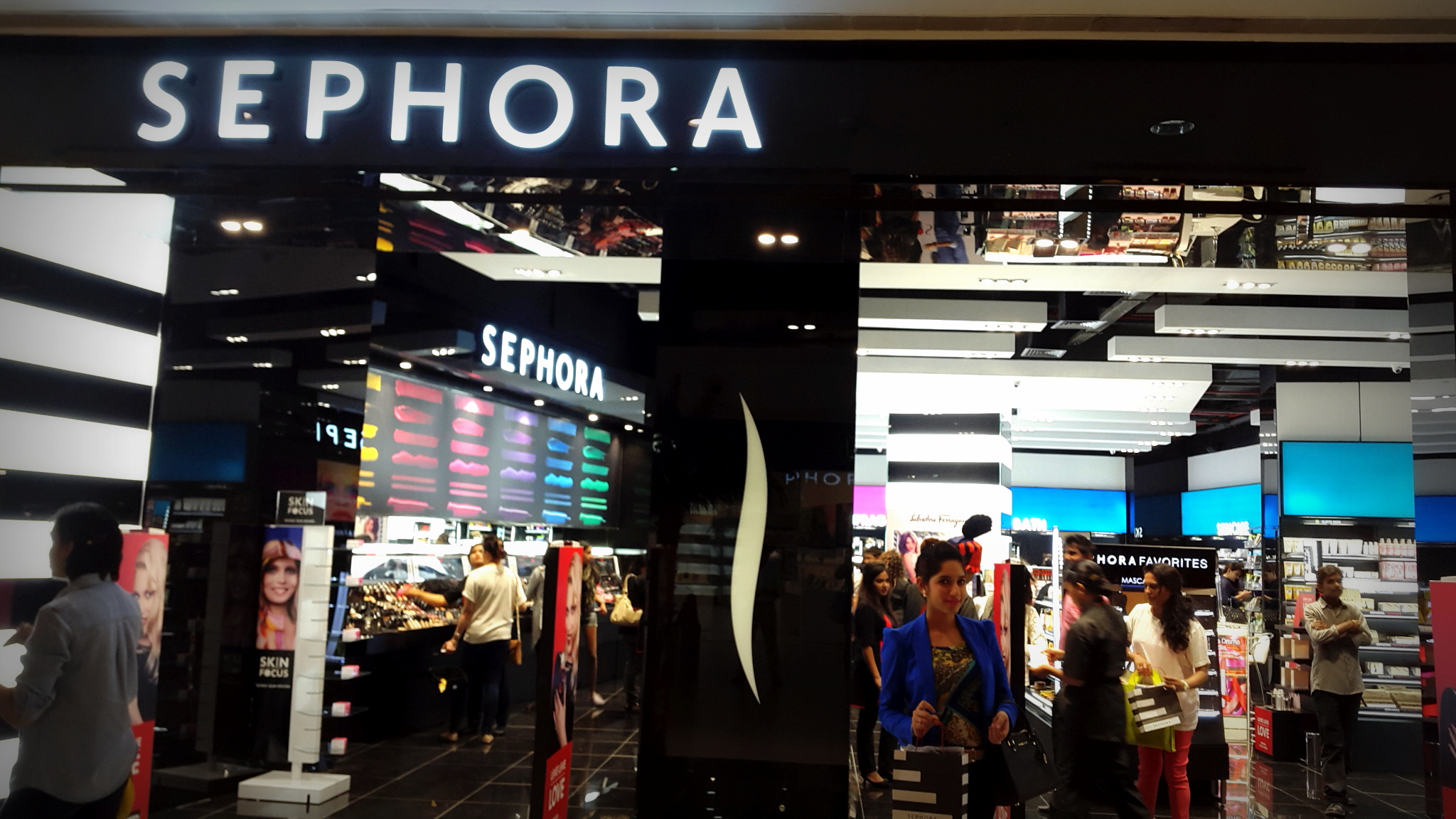 sephora opens in pune city thestylechair
