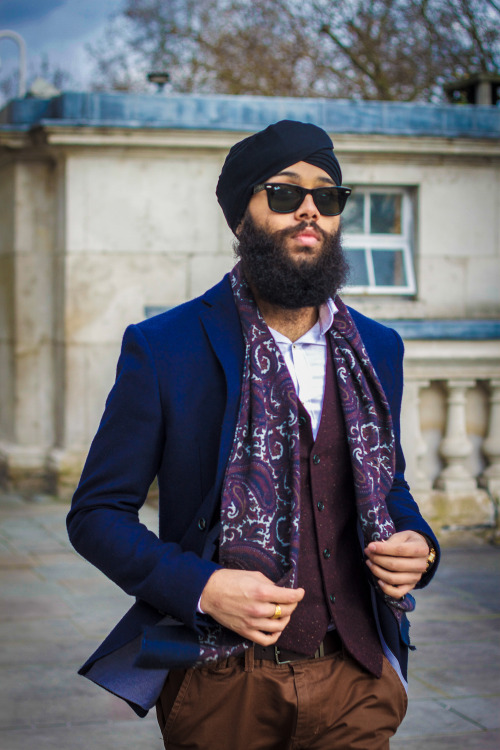 Wayfarers being featured on singhstreetstyle.com