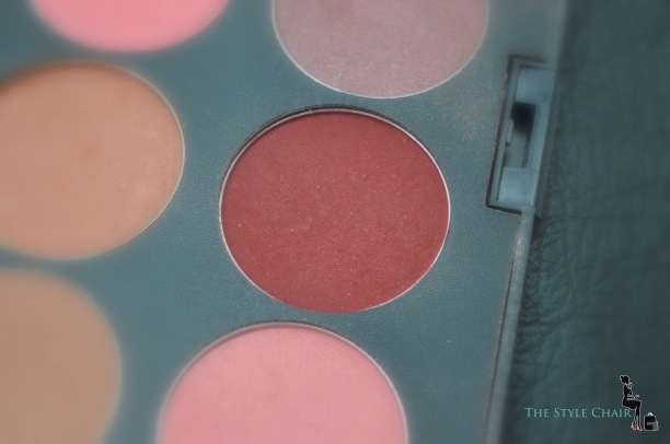 Dark red or True rouge Blush