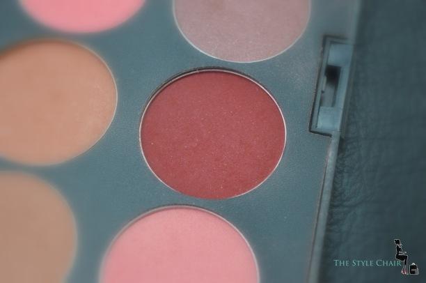 Dark red or True rouge Blush