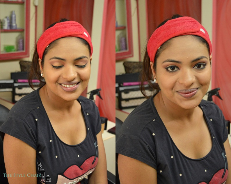 Complete eye-makeup for the Day Look on Wheatish Skin