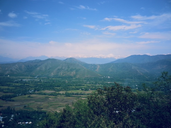 View of the Kashmir Valley