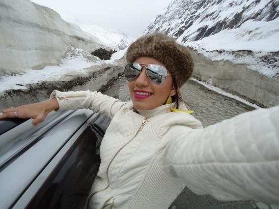 My Famous Zojila Selfie!