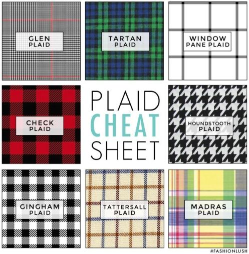 types of plaid The Style Chair